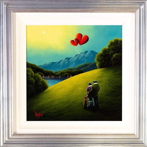 Our Love Entwined David Renshaw Framed