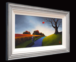 Our Way Forward - Original David Renshaw Framed