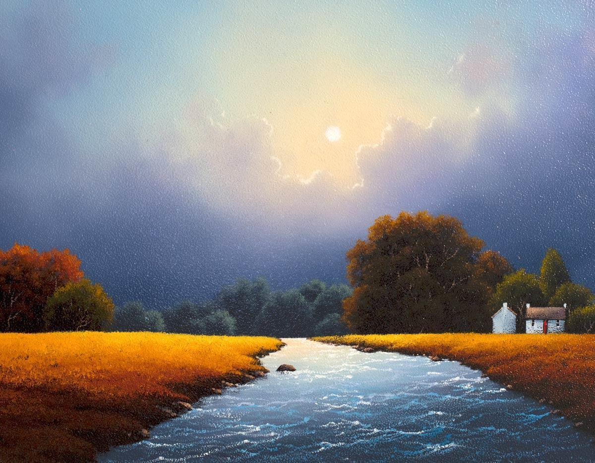 Parting of the Clouds - Original David Renshaw