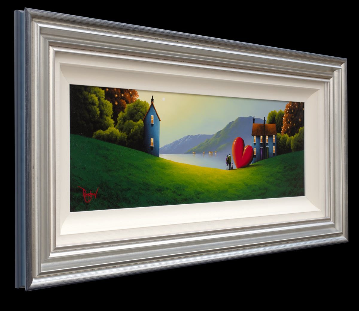 Pine Mountain Lake David Renshaw Framed