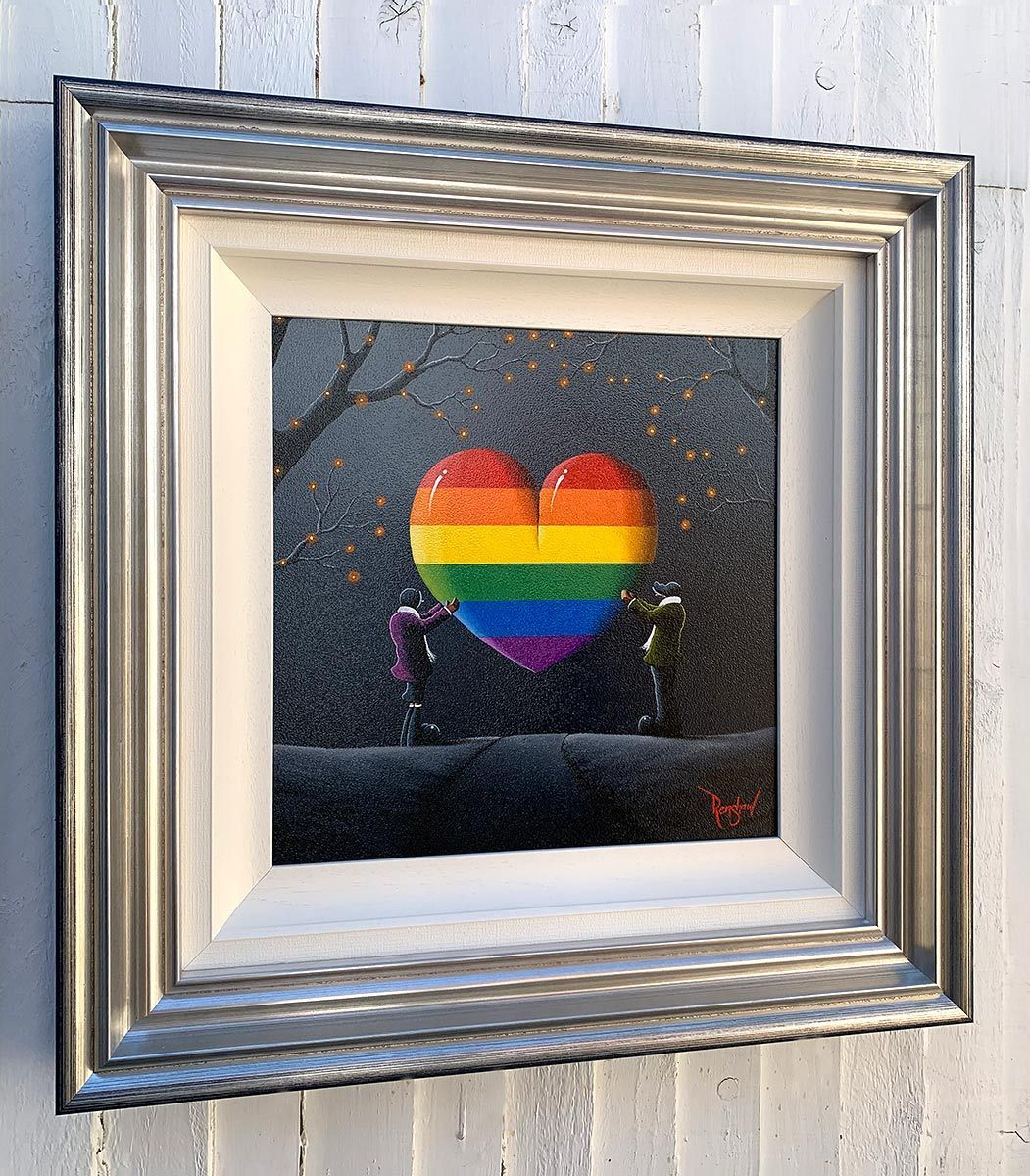 Pride - Original David Renshaw Framed