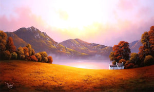 Quiet Reflection - SOLD David Renshaw