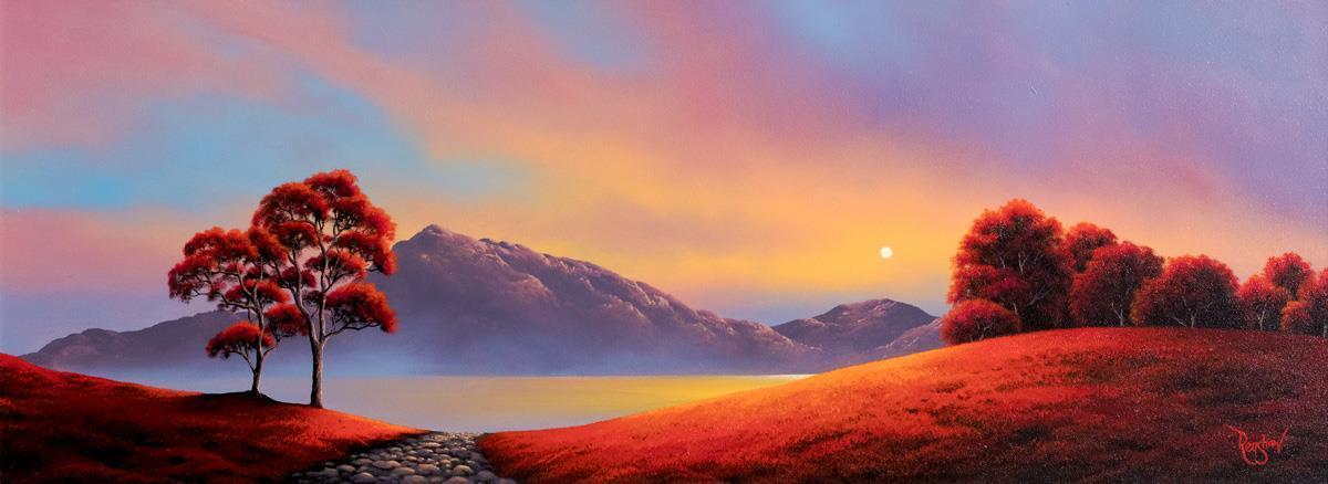 Scarlet Bay - Original David Renshaw
