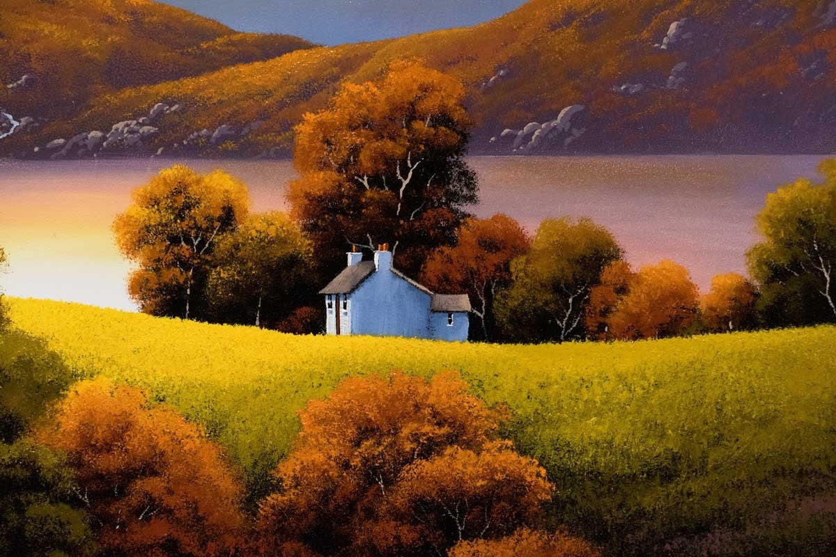 Shadows Lengthen - SOLD David Renshaw