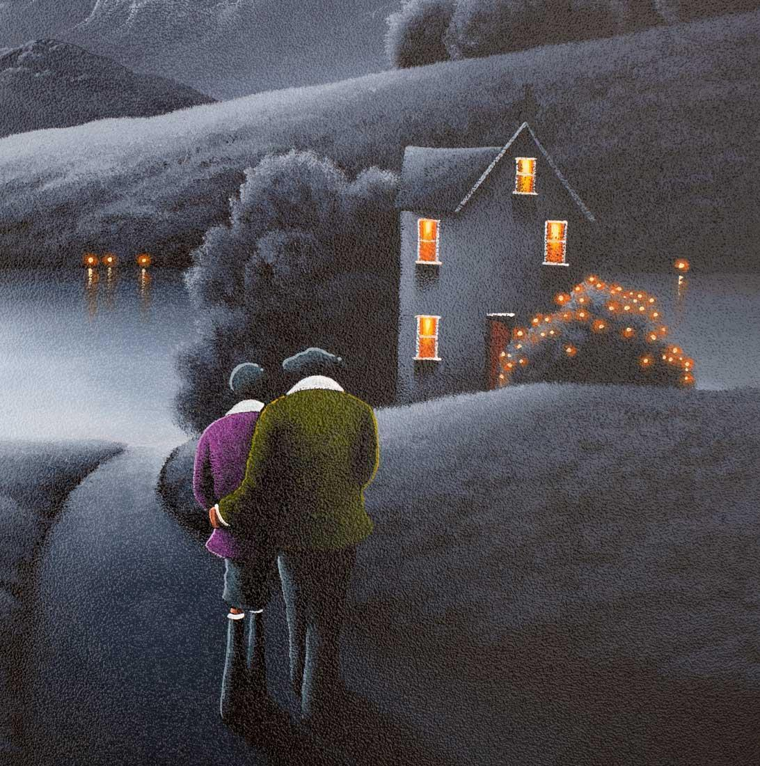 Someone Like You - Orignal David Renshaw Framed