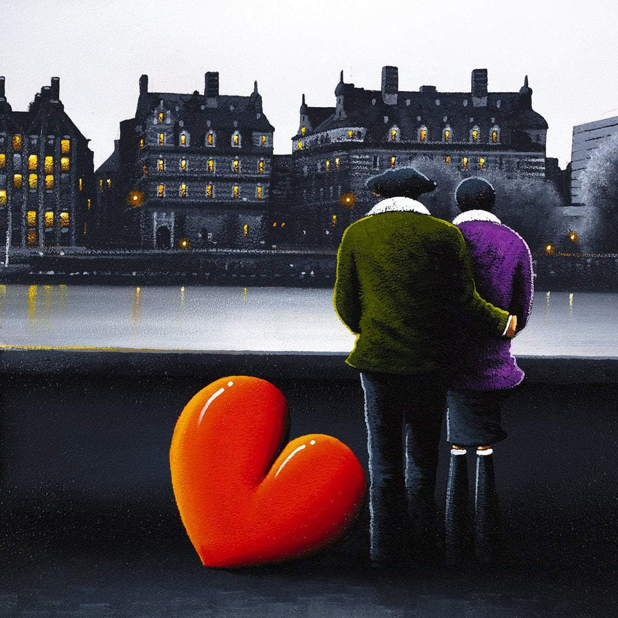 Southbank Dreaming - Original David Renshaw Framed