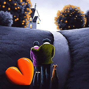 Stay with Me - Original David Renshaw Framed
