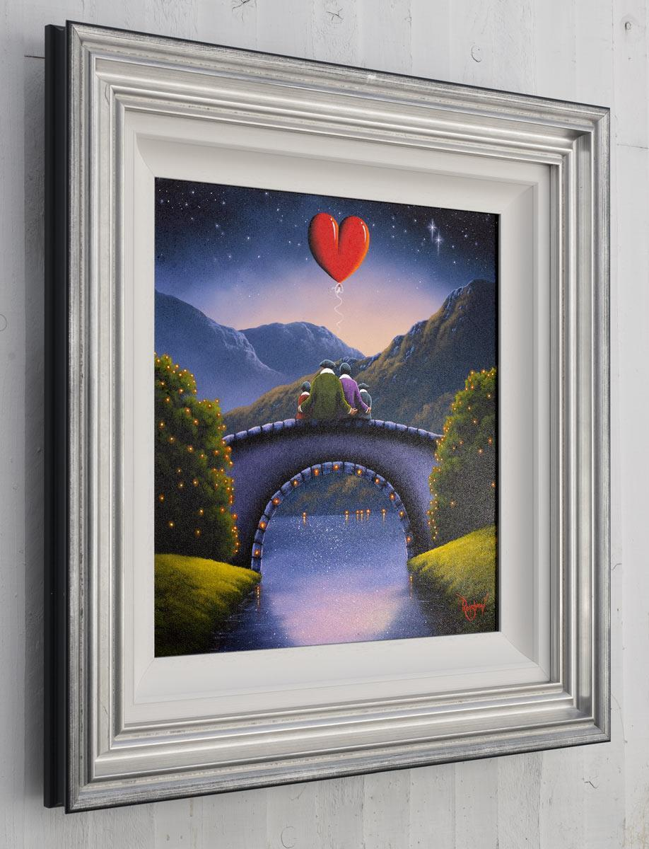 Strong Foundations David Renshaw Framed