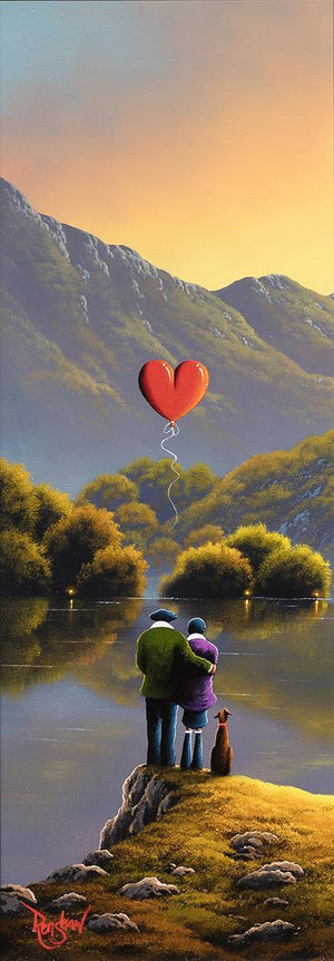 Sunset Love - Original David Renshaw
