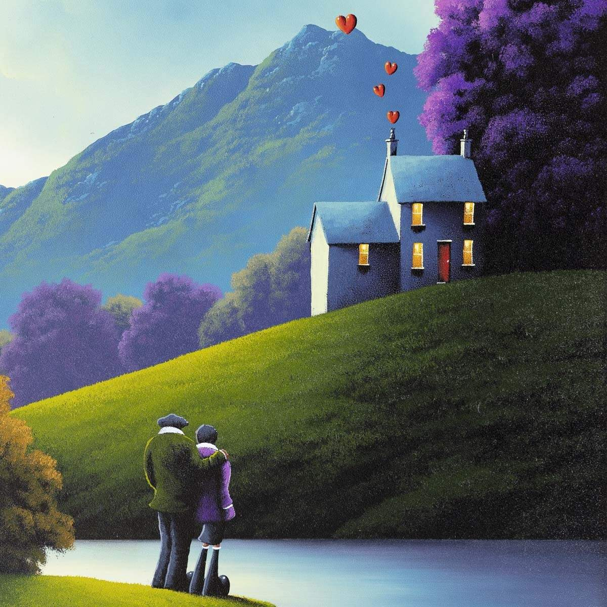 The Heart Of The Home - Original David Renshaw Framed