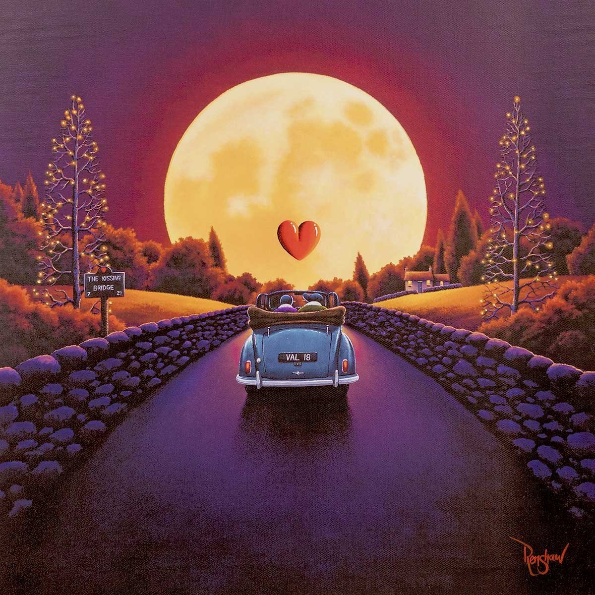 The Kissing Bridge - LAST EDITION David Renshaw
