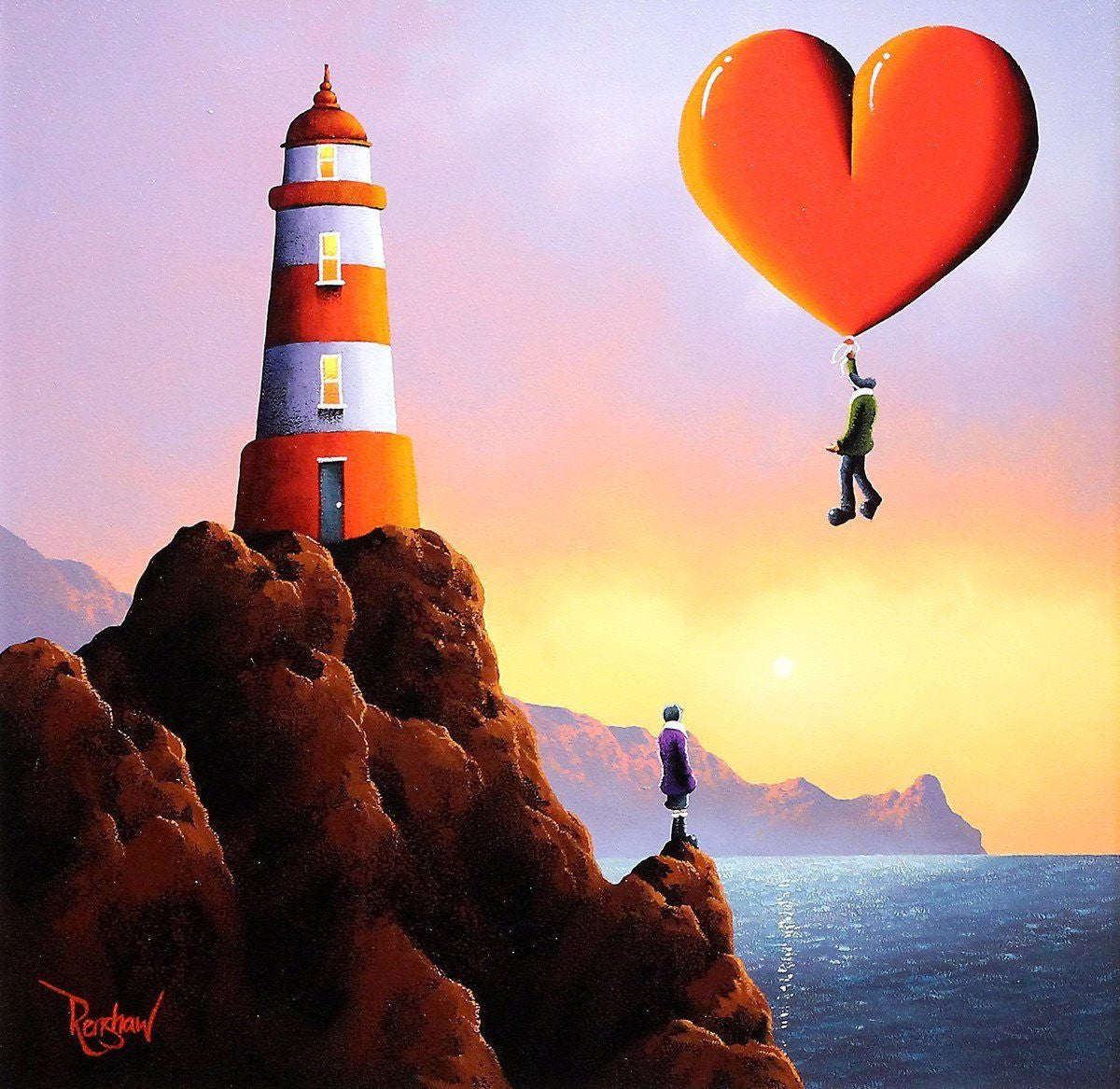 The Lighthouse - SOLD David Renshaw