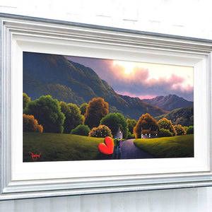 The Middle of Nowhere David Renshaw Framed