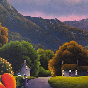 The Middle of Nowhere - Original David Renshaw Framed