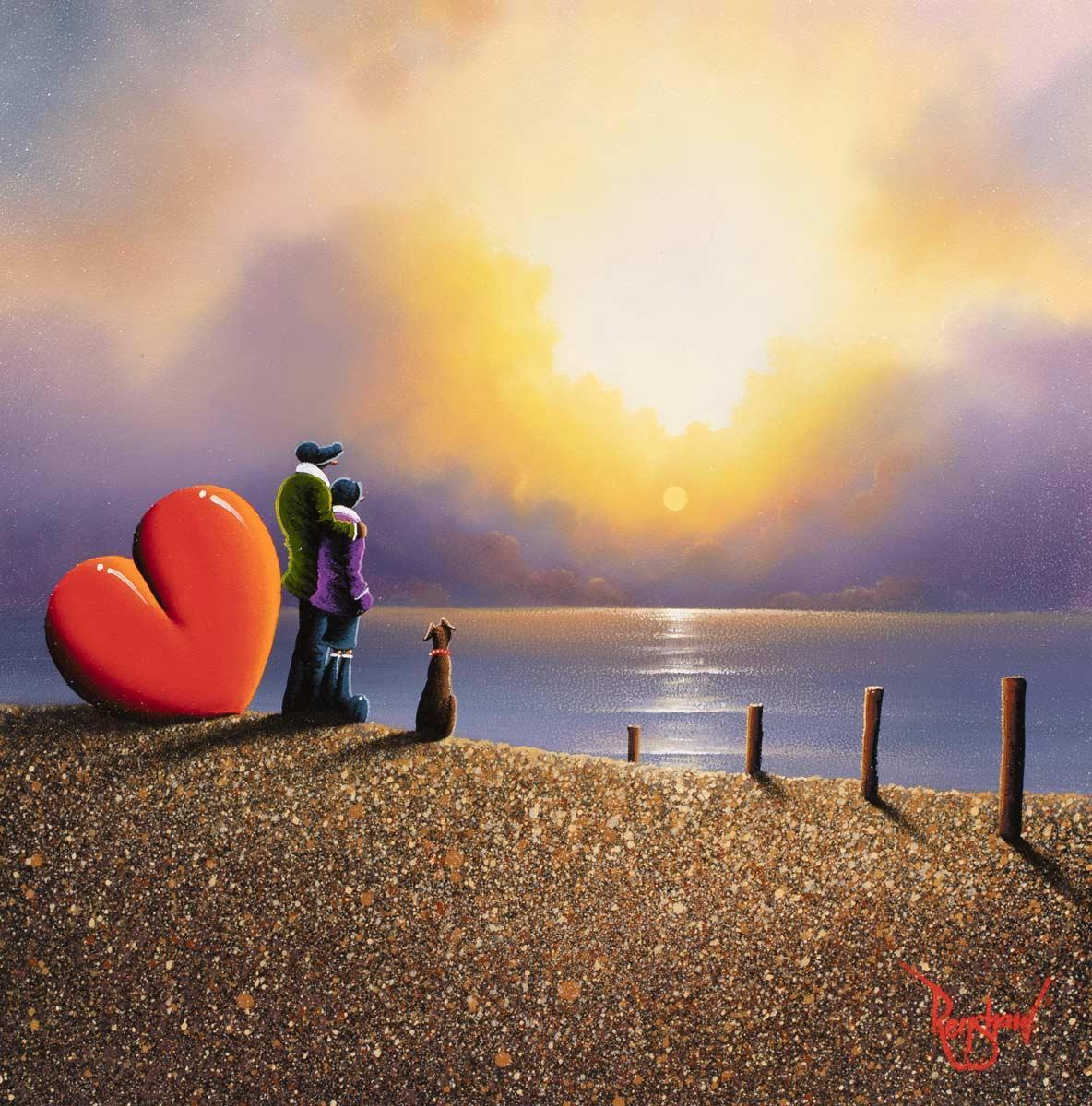 Tide's Out David Renshaw Framed
