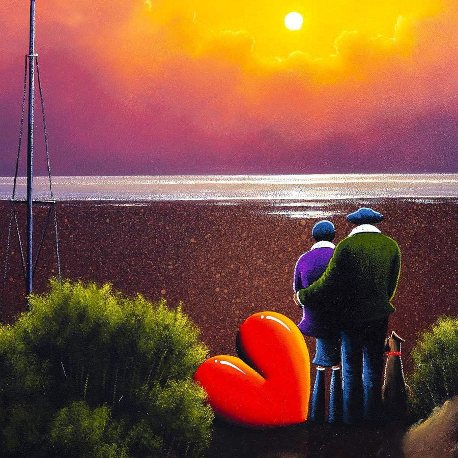 Tides Out - Original David Renshaw Framed