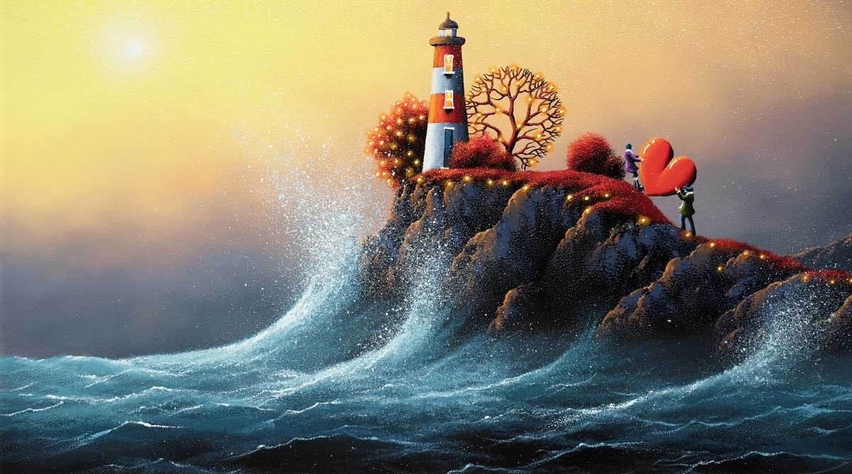 To the Top of the Tower - SOLD David Renshaw