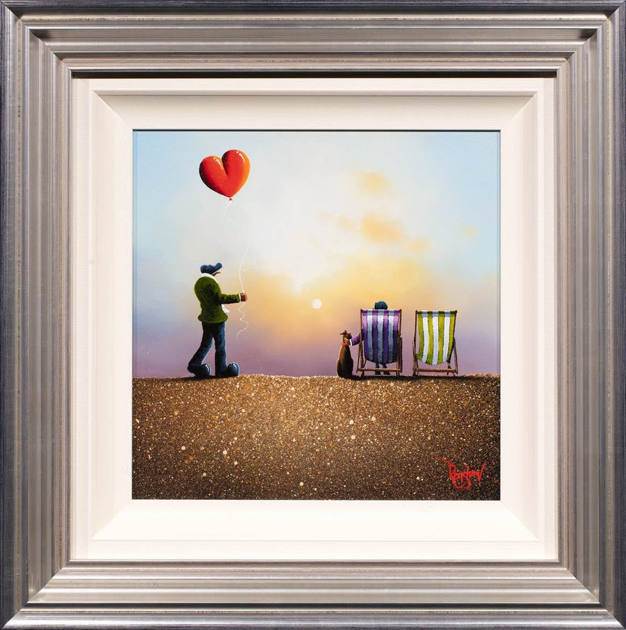 Together is a Wonderful Place to be - SOLD David Renshaw Framed