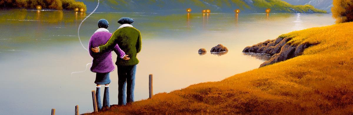 Together With You - Original - SOLD David Renshaw