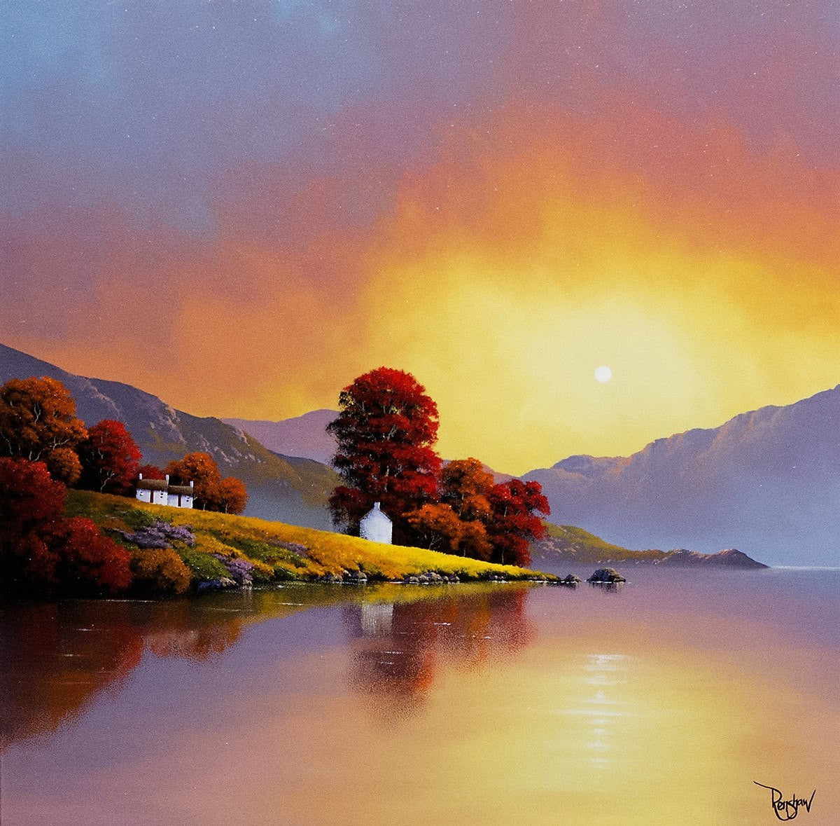 Tranquil Dawn David Renshaw