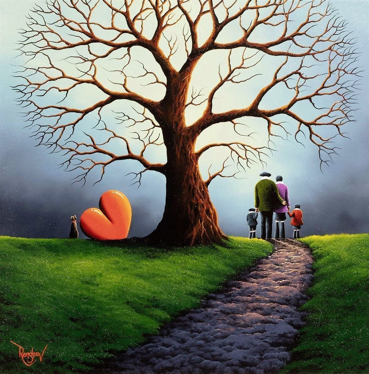 Tree Full Of Happiness - SOLD David Renshaw