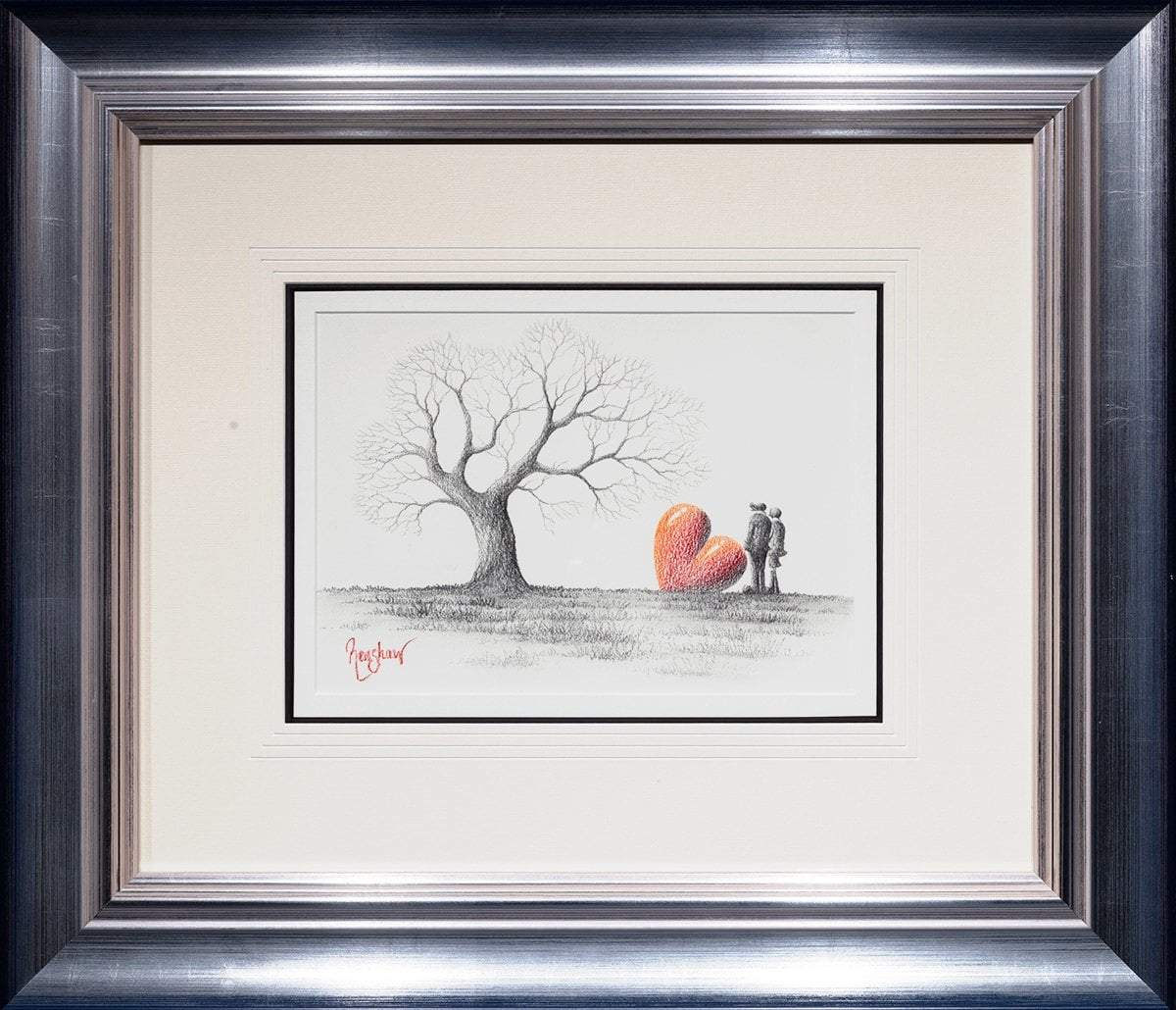 Turning of The Seasons - Original Sketch David Renshaw Framed