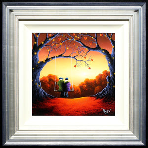 Twinkling Lights - SOLD David Renshaw