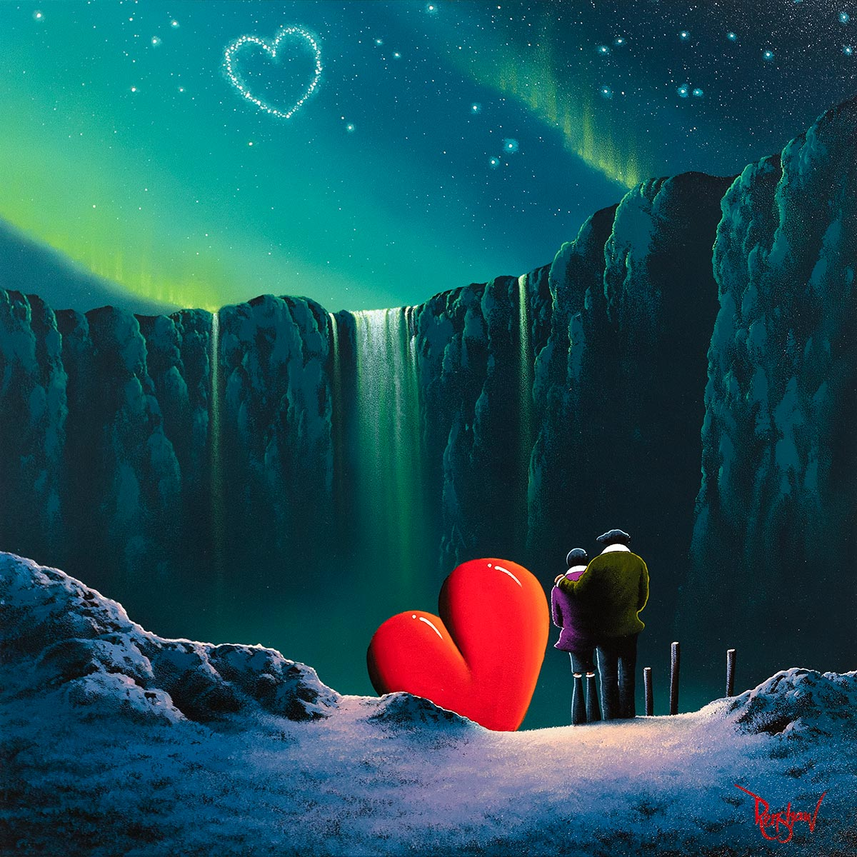 Under the Stars - Original David Renshaw Framed