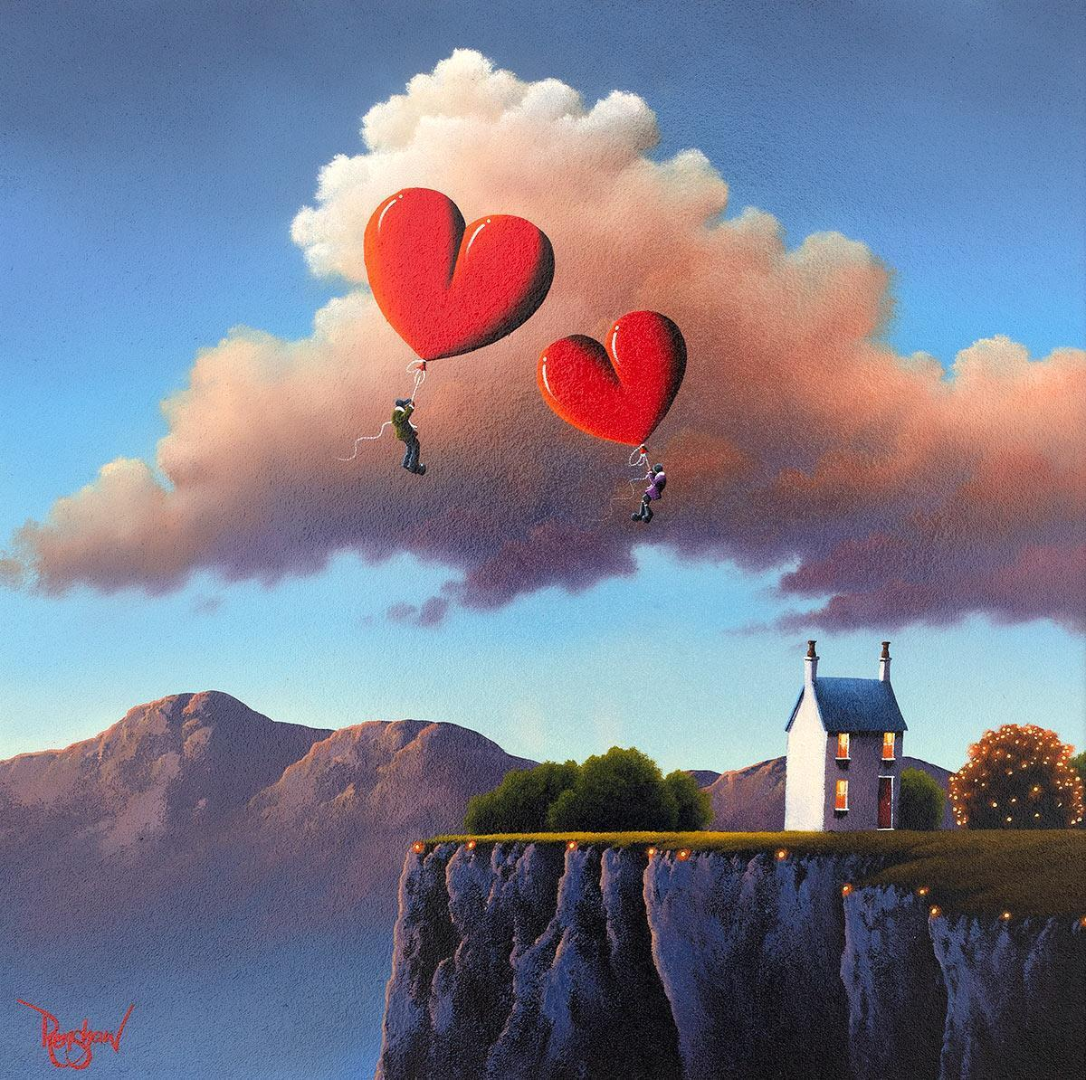 Up and Away! David Renshaw Framed