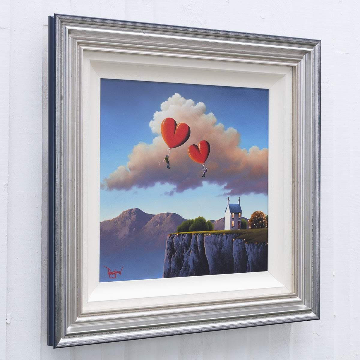 Up and Away! - Original David Renshaw Framed
