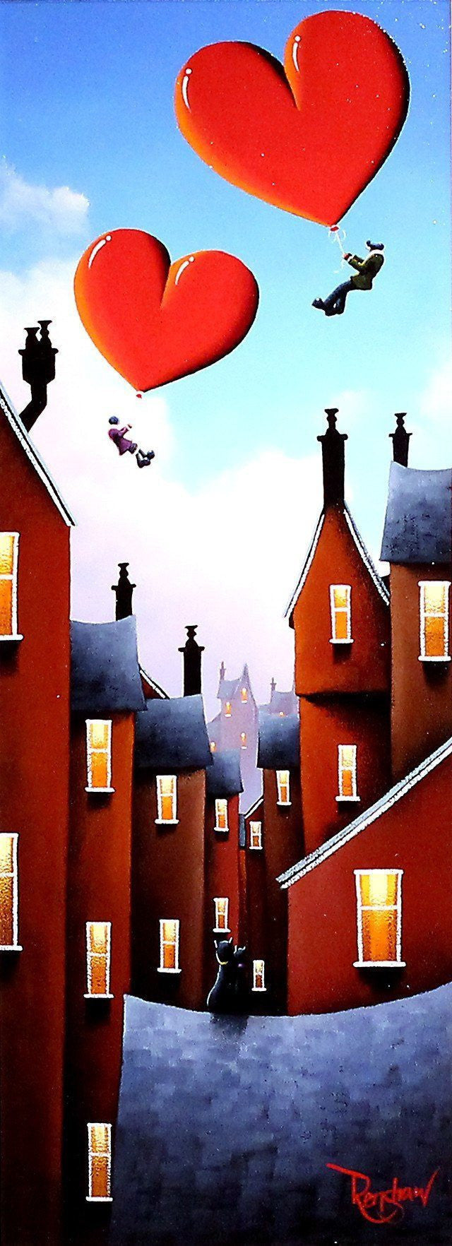 Up, Up & Away! David Renshaw