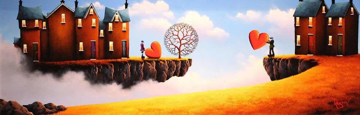 When Two Worlds Meet - SOLD David Renshaw