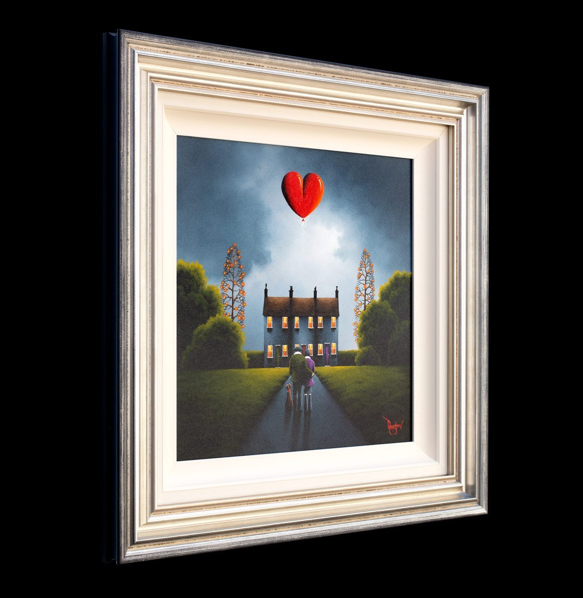 Where Our Love Lives David Renshaw Framed