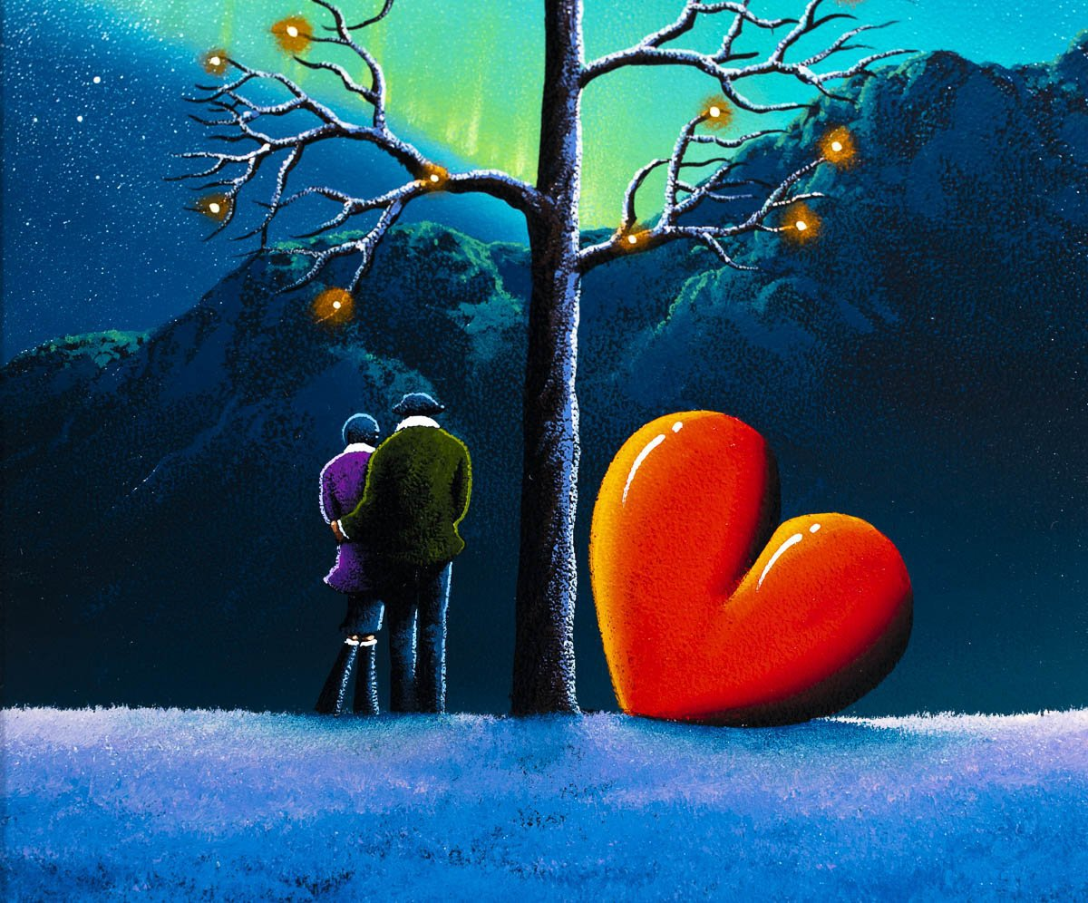 Wishing on a Star - Original David Renshaw Framed