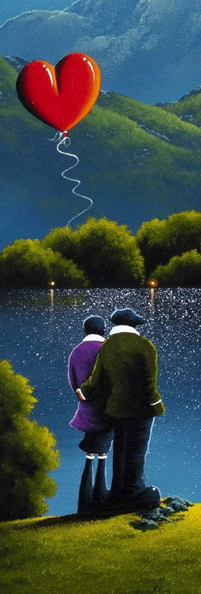 With You - Original David Renshaw Framed