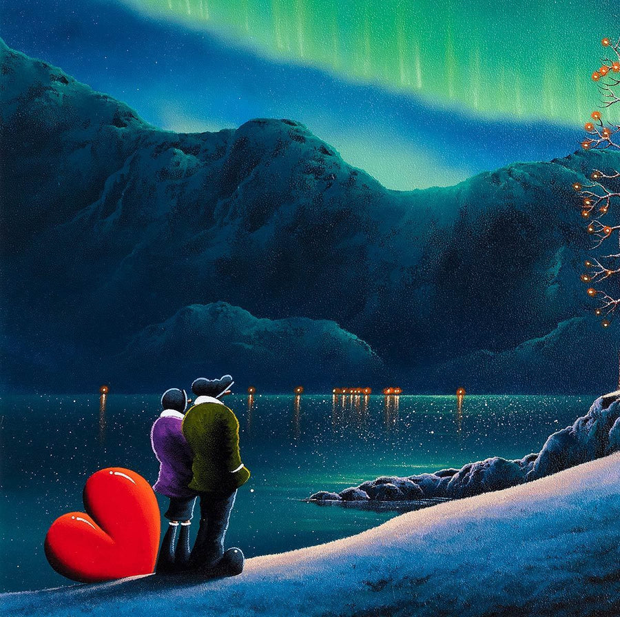 Written in The Stars - Original David Renshaw Framed
