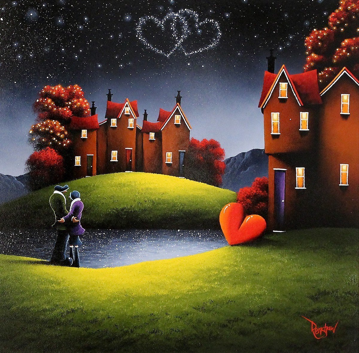 Written in the Stars - SOLD David Renshaw