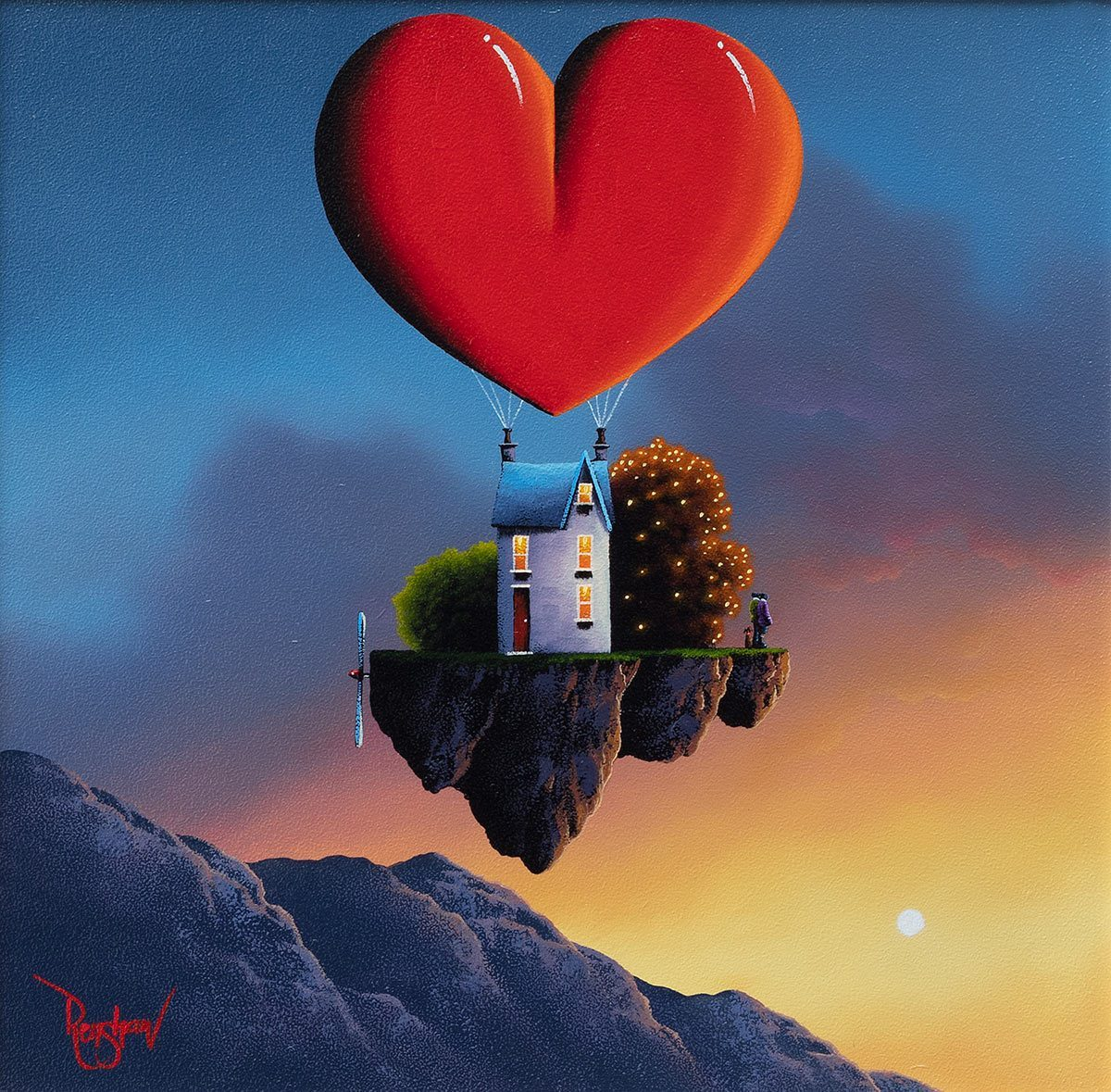 You Take Me Higher David Renshaw Framed