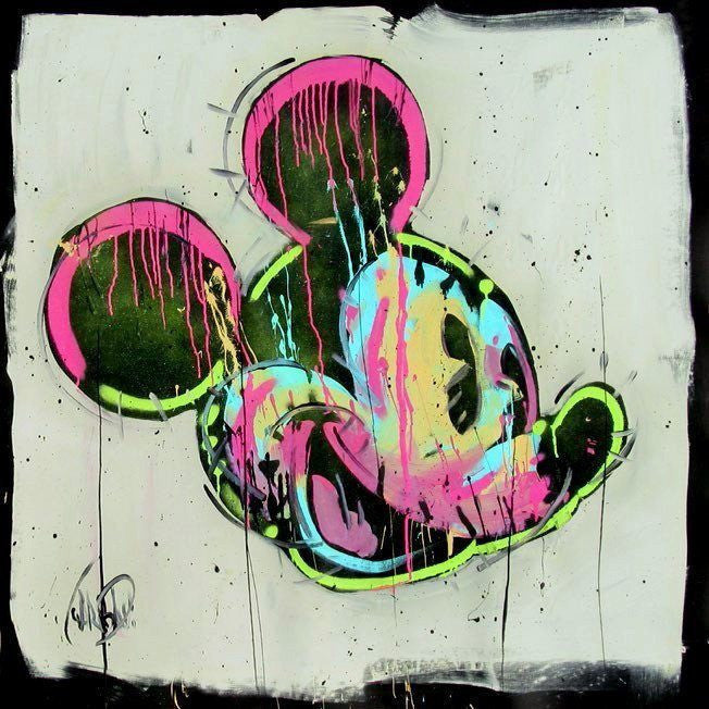 Mickey and Hue - ORIGINAL - SOLD Disney