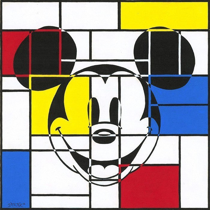 Mondrian Mickey - ORIGINAL Disney