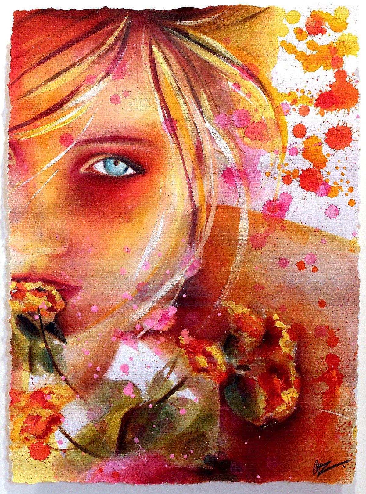 Honey Blood - ORIGINAL - SOLD Emma Grzonkowski