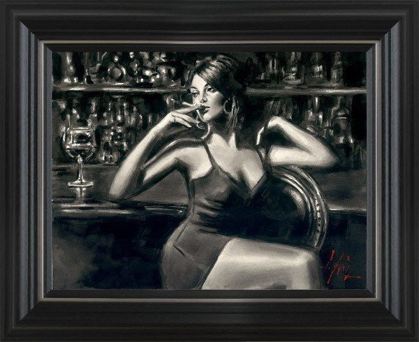 Saba at Las Brujas at the Bar Fabian Perez