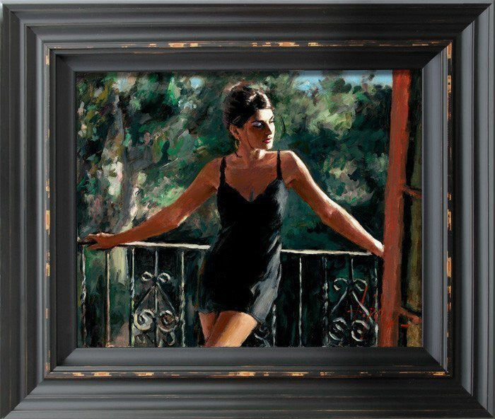 Saba in the Sun Fabian Perez