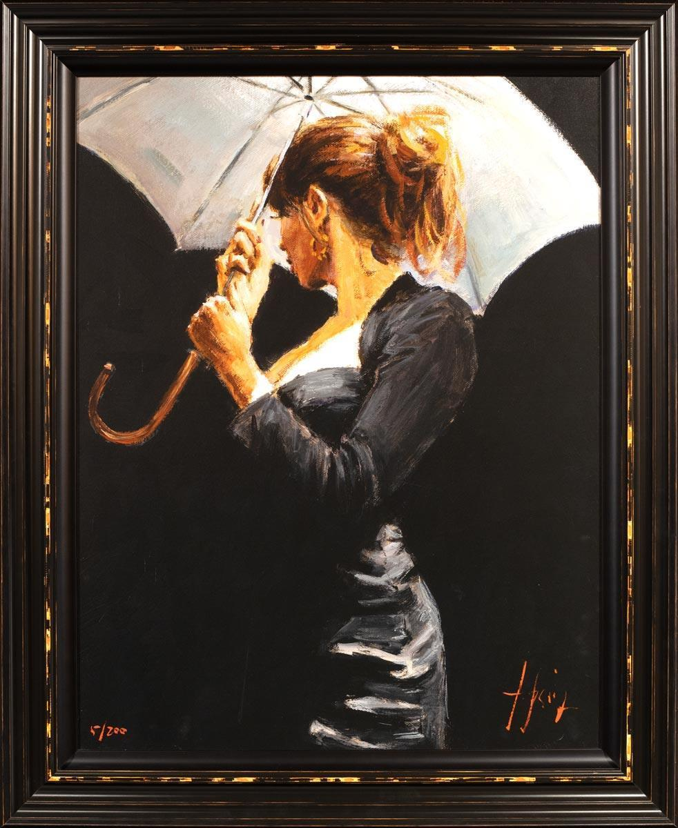 Summer Rain - Edition Fabian Perez Framed