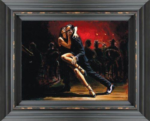 Tango in Red - SOLD OUT Fabian Perez