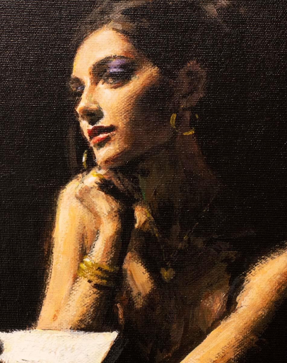 The Muse - Edition Fabian Perez Framed