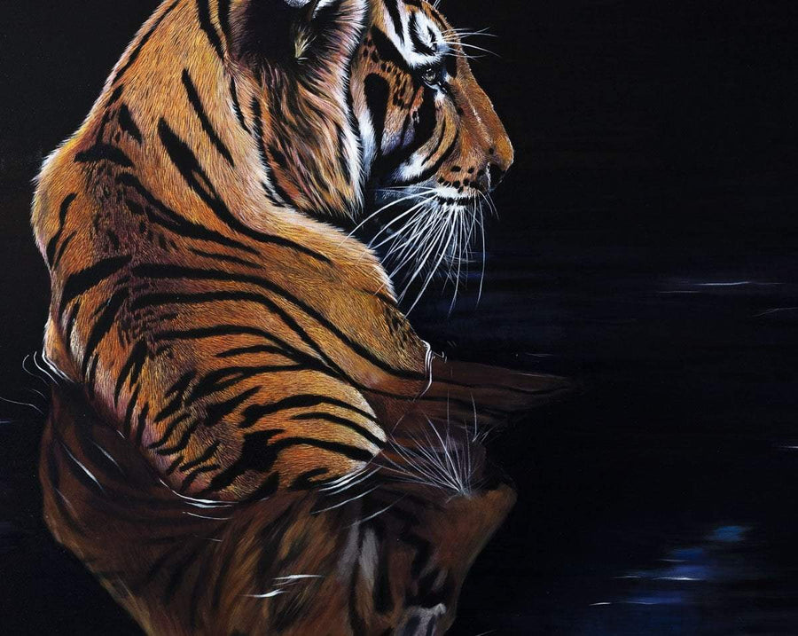 Tigris - Original Faye Nasser Joley Framed