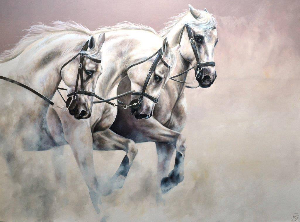 We Three Kings - SOLD Faye Nasser-Joley