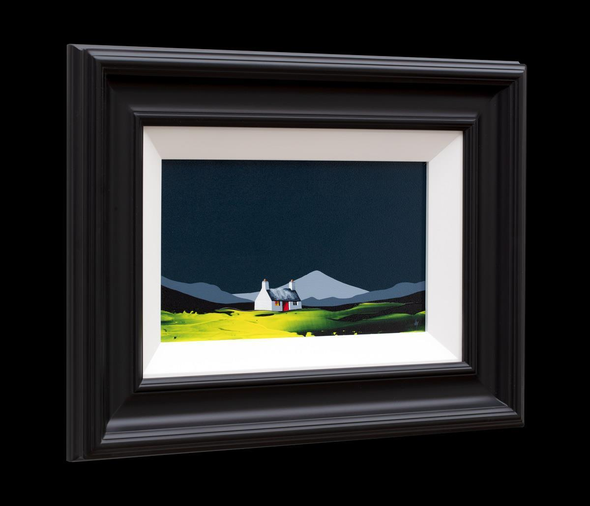 Bird Song Cottage Jay Nottingham Framed