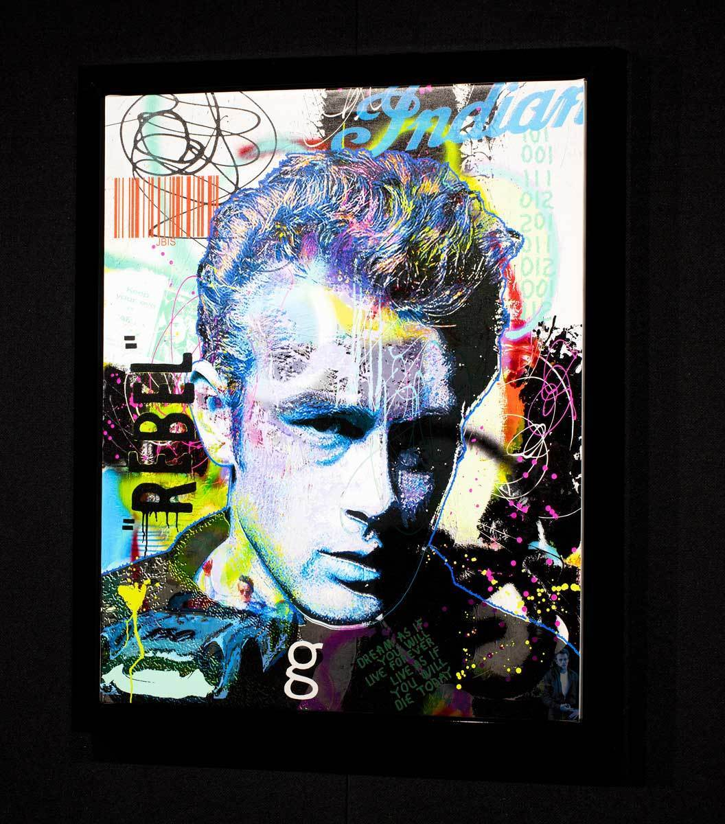 James - Limited Edition Jeffrey Bisaillon Framed